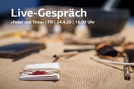 Live-Gespräch Facebook © Europäisches Hansemuseum Foto: Olaf Malzahn