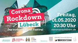 Plakat Corona Rockdown Lübeck