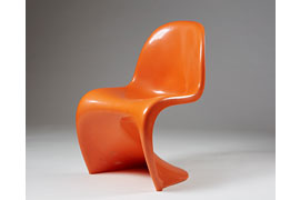 Verner Panton – Panton Chair 1960er © Verner Panton Design AG