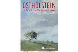 Plakat OSTHOLSTEIN im Blick der Norddeutschen Realisten