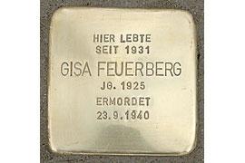 Gisa Feuerberg – Stolperstein