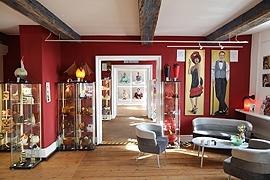 Anja Es: KUNST! Galerie in der Alten Vogtei in Travemünde © Anja Es