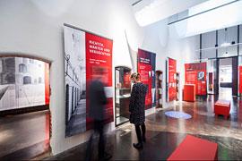 """EHM Ausstellung """"Geschichte des Burghügels"""" © Olaf Malzahn"""