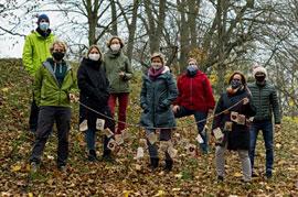 Das Team der Klimaleitstelle Hansestadt Lübeck © Hansestadt Lübeck