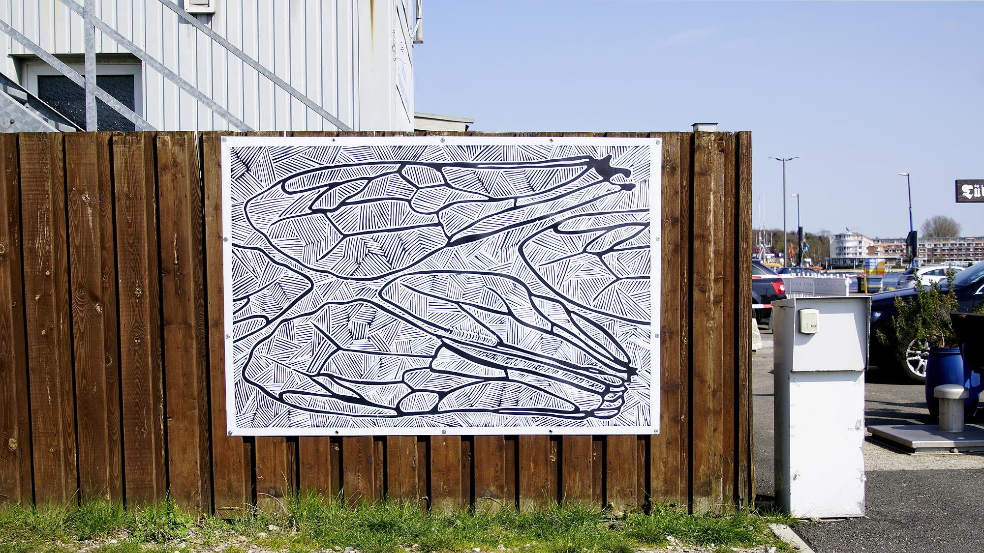 Kunst vorOrt im Fischereihafen Travemünde © TraveMedia