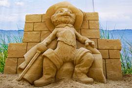 Sandskulpturen Travemünde 2020