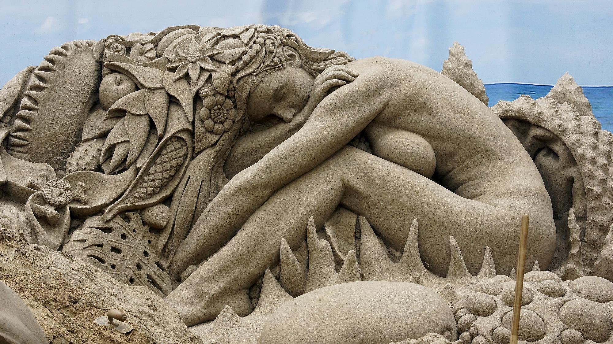 Sandskulpturen-Ausstellung Travemünde 2021 © TraveMedia