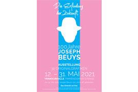 """Plakat Ausstellung """"100 Jahre Joseph Beuys"""""""