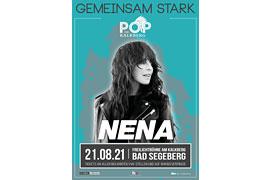 """Plakat """"Gemeinsam stark"""" Nena Bad Segeberg"""
