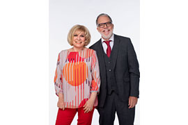 Pressefoto Mary Roos und Wolfgang Trepper