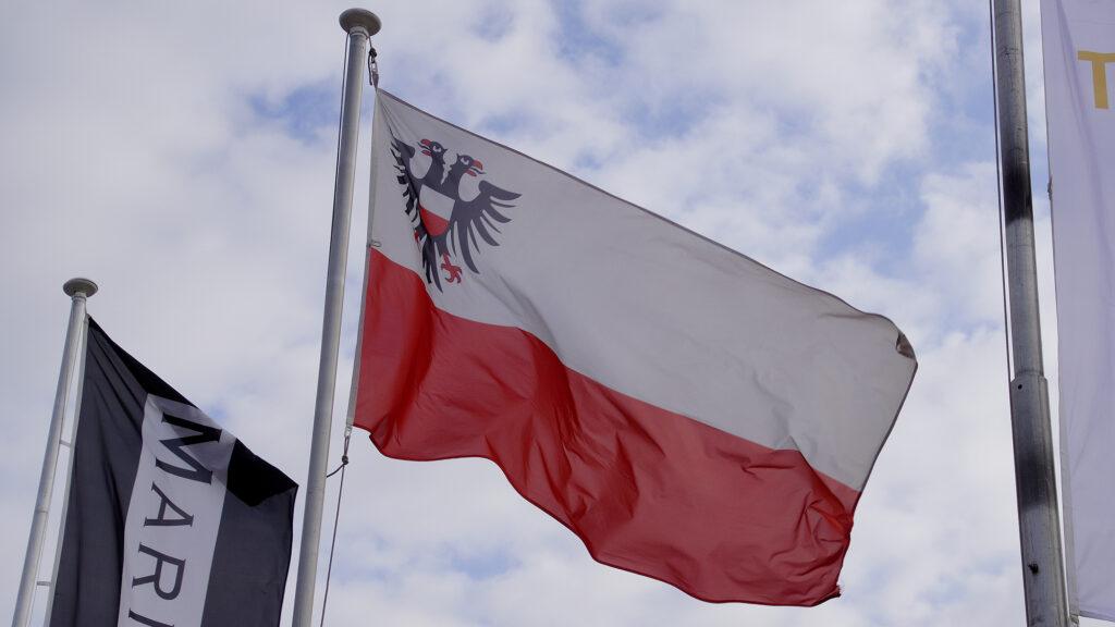 Hansestadt Lübeck Flagge © TraveMedia