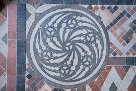 Boden im Burgkloster © Europäisches Hansemuseum, Foto: Olaf Malzahn