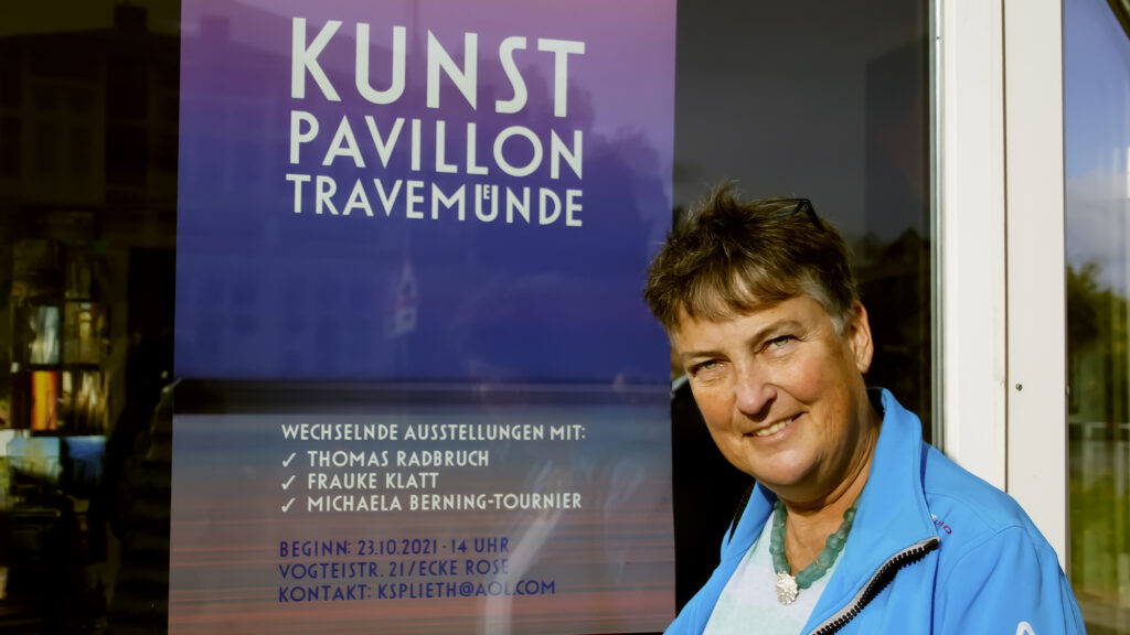 Fraucke Klatt Internationale Künstlerin Berkant für Ihre Offiziellen Bilder zur Travemünder Woche © TraveMedia